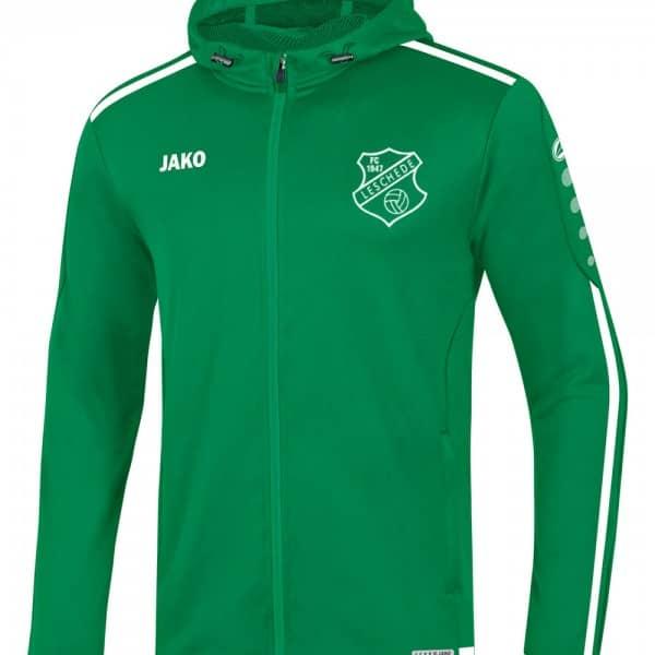FC Leschede Kapuzenjacke grün