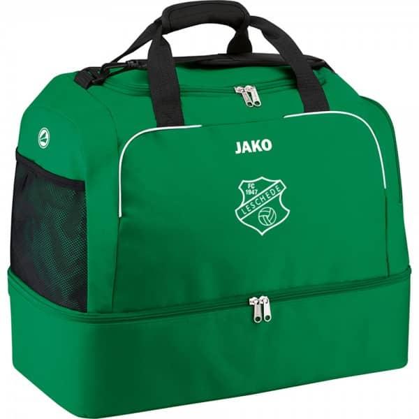FC Leschede Sporttasche mit Bodenfach grün