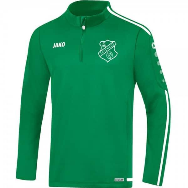 FC Leschede Ziptop grün